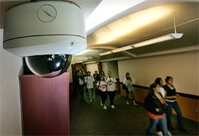 school security camera